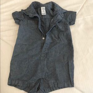 Jean one piece carters